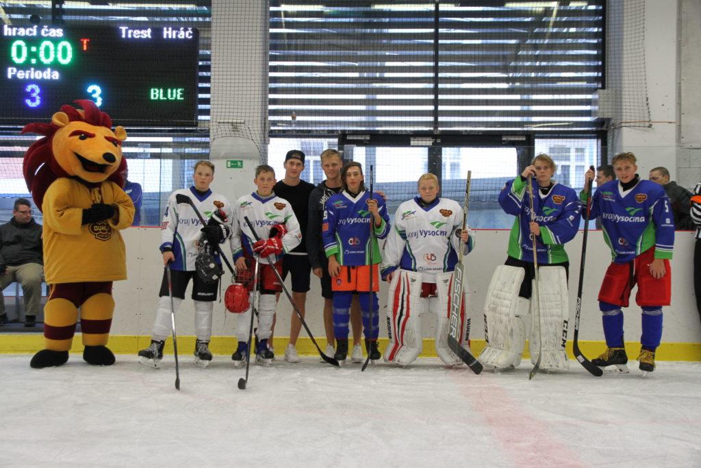 Kemp českých a finských hokejových talentů se stal už tradicí. Trvá od roku 2011. FOTO: TOMÁŠ LYSÝ