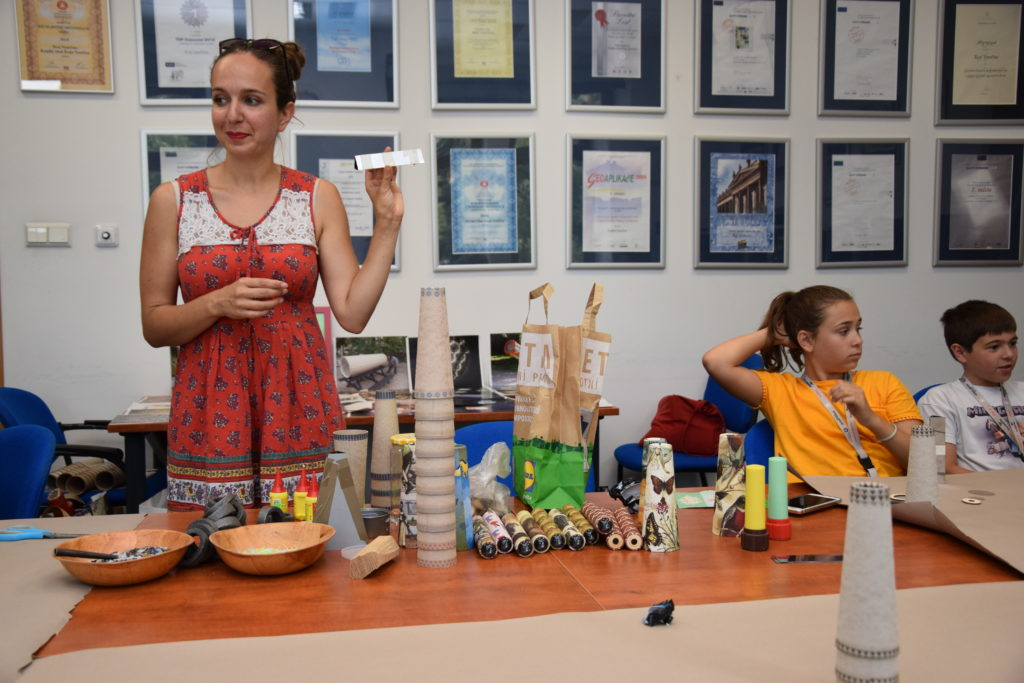 Desítky dětí se v srpnu vzdělávaly na prázdninovém pobytu Mladé univerzity. Foto: Kraj Vysočina