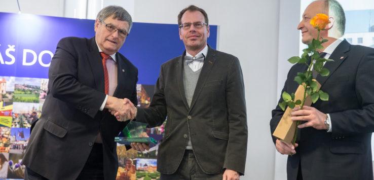 Cenu hejtmana Kraje Vysočina za společenskou odpovědnost získala také Zdravotnická záchranná služba Kraje Vysočina.