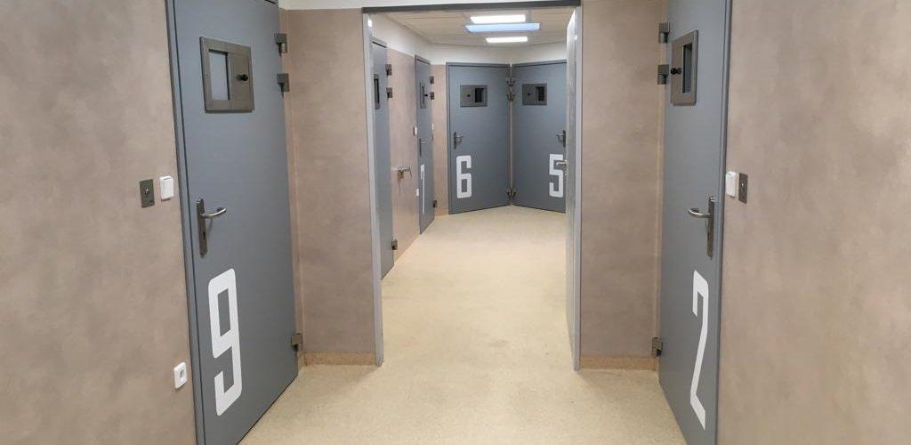 Záchytná protialkoholní stanice v Jihlavě je jediná v kraji. Její kapacita je jedenáct osob. FOTO: MONIKA ZACHRLOVÁ